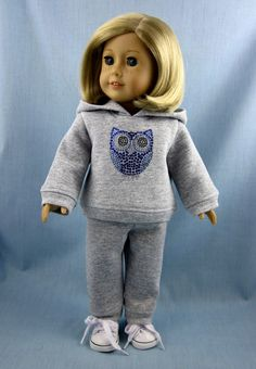 American Girl Doll Clothes  Sweatsuit  by SewMyGoodnessShop, $20.00