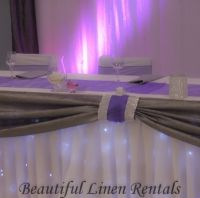 lilac wedding decor