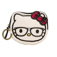 I love the Hello Kitty Nerd Glasses Coin Bag from LittleBlackBag