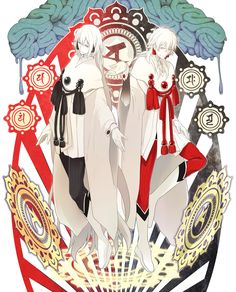 Identical in both appearance and personality, twins take the same actions at the same timing. These are two people who u. Bl Games, Nitro Chiral, Deadman Wonderland, Devilman Crybaby, Dramatical Murder, Manga Games, Fujoshi, Zebras, Drawing People