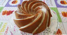 Bizcocho de turrón de Jijona y chocolate blanco