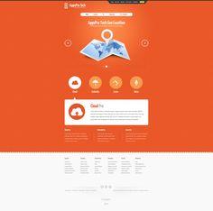 nice and clean page  http://demo.gavick.com/joomla16/mar2012/