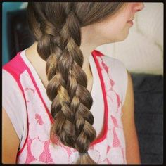 Lace-Up Braid | Cute Braids and more Hairstyles from CuteGirlsHairstyles.com