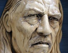 Impressive carved wood and bone figures by Andrey Sagalov Wood Carving Faces, Wood Carving Patterns, Wood Carving Art, Sculpting Tutorials, Small Figurines, Face Expressions, Wooden Art, Wood Sculpture, Clay Sculptures