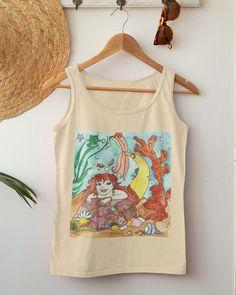 Mermaid Top, The Little Mermaid, Mermaids, Moonlight, Fairytale, Dancing, Summer Outfits, Women Wear, Magic