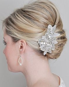 french twist hairstyles for brides - bridal french twist