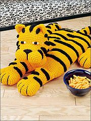 Tiger Pillow