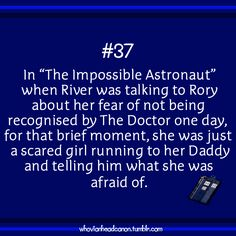 Whovian Head Canon.  me: IT'S TOO EARLY IN THE MORNING FOR THIS DEGREE OF FEELS!!!! sister:.........It's 11 am....... me: EXACTLY!