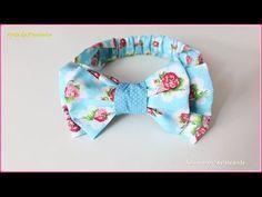 Tiara Bebê por Dreams Factory by Jeane Fabric Flower Headbands, Baby Headbands, Baby Sewing Projects, Sewing Hacks, Sewing Tips, Baby Tie, Felt Crown, How To Make Ribbon, Diy Headband