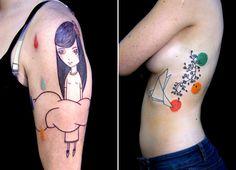 Conheça a divertida arte na pele do tatuador Lionel Fahy
