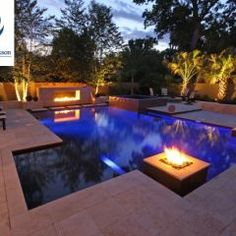 Fire pit area design ideas 8 outdoor fireplace and fire pit design ideas luxury pools outdoor Luxury Swimming Pools, Luxury Pools, Swimming Pools Backyard, Swimming Pool Designs, Pool Landscaping, Lap Pools, Indoor Pools, Dream Pools, Fire Pit In Pool