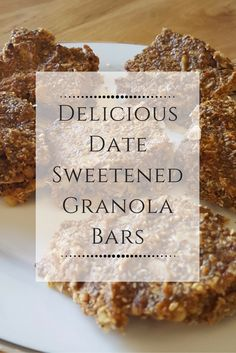 ... ://www.pilatesbarredundalk.com/#!Delicious-Date-Sweetened-Granola