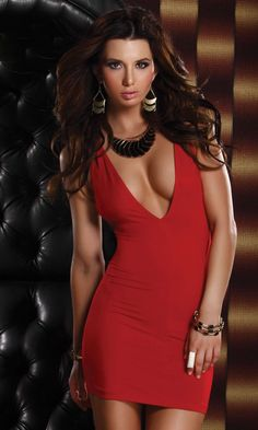 Shop Mini Dress: Scandal - Mini dress with criss cross back straps