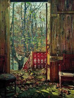 Fallen Leaves - Isaac Brodsky 1915