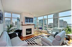 my living room Condo Living, City Living, My Living Room, Luxury Condo, Luxury Apartments, Luxury Homes, Lounge Lighting, Home Lighting Design, Interior Lighting