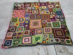 love the babette blnket with varying #granny squares