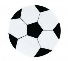 Felt Soccer Ball Craft Activity - Children craft a fun felt soccer ball to hang on the wall & get into the team spirit.