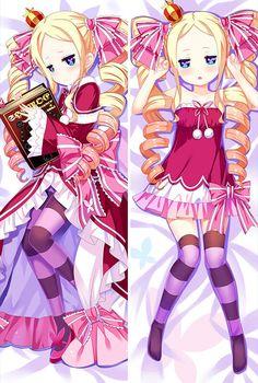 Beatrice Re Zero Anime Dakimakura Japanese Hugging Body Pillow Cover Body Pillow Covers, Re Zero, Princess Zelda, Disney Princess, Another World, Hug, Disney Characters, Fictional Characters, Aurora Sleeping Beauty