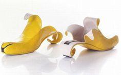 Bananen schoenen.
