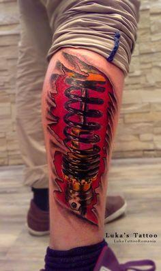 Tatuaje biomecanice Energy Drinks, Tattoos, Tattoo, Tatuajes, Japanese Tattoos, Tattoo Illustration, A Tattoo, Time Tattoos