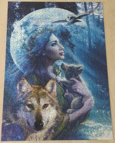 Goddess of the wolves (1000)