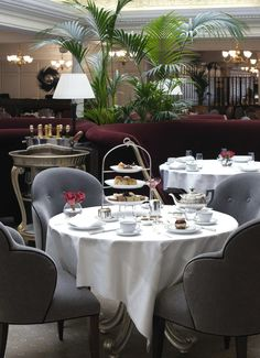 Harrods, The Georgian restaurant: afternoon tea review