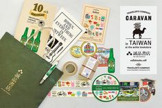 TAIWAN CARAVAN - TRAVELER'S FACTORY | トラベラーズノートを中心としたステーショナリー・カスタマイズパーツ・オリジナルグッズ・雑貨の販売店
