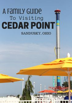 A complete family guide on where to stay and what to do with kids at Cedar Point in Sandusky Ohio with Cedar Point Hotel Breakers.