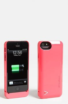 cute case with a built in boost battery - could totally use one (so could the hubby - but not in pink!)