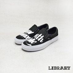 ff21b34b02 Vans x Baron Von Fancy Slip-On 黑. LIBRARY · Crossover