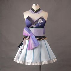 Components: Dresses Model Number: O Material: Blend Cotton Characters: Haku Anime Cosplay Costumes, Cosplay Dress, Cosplay Outfits, Anime Outfits, Lolita Cosplay, Cute Outfits, Kawaii Fashion, Lolita Fashion, Pretty Dresses