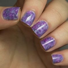 As I promised, today's post is a tutorial for the nail art I posted yesterday. As many of you guessed – I did indeed use a q-tip/cotton bud! I really love this nail art so no doubt I&#8…