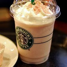 The Bucks hack - Starbucks Cake Batter Frappuccino - Ask your barista for some Almond Flavoring to be added to a Vanilla Bean Creme Frap