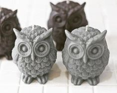 DIY Supplies by EmmaSupplies on Etsy Ice Molds, Soap Molds, Silicone Molds, Candle Molds, Candle Wax, Candles, Plaster Molds, Owl Pictures, Black Spider