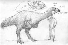 Mesolithic Eastern Asia by povorot on DeviantArt Curious Creatures, Alien Creatures, Prehistoric Creatures, Fantasy Creatures, Jurassic Park, Jurassic World, Dinosaur Projects, Dinosaur Art, Creature Feature