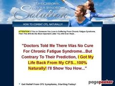 Chronic Fatigue Syndrome Solution & Free 3 Months Coaching Check more at http://stuffeddaily.com/3179
