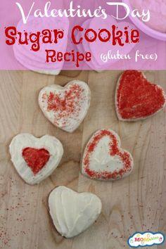 Gluten Free Valentine's Day Sugar Cookies Recipe