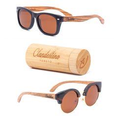 Collection of stylish eyewear. Handmade of wood.