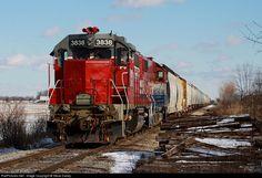 RailPictures.Net Photo: CORP 3838 Central Oregon & Pacific Railroad EMD GP38AC at Buena Vista, Michigan by Steve Davey