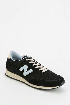 New Balance 620 Black & Blue Running Sneaker