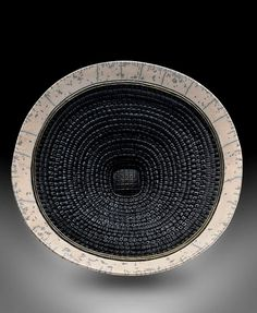 Raku and clay weave plate – Cardone Wharton