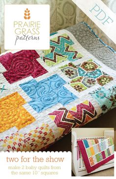 Two for the Show: PDF Quilting Pattern #115