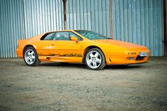 One of only 197 Lotus Esprit ever built, this 1999 chrome orange metallic example is in excellent order and comes with a comprehensive history file to back up the care and attention lavished on it. Lotus Esprit, Bmw, Cars, Autos, Car, Automobile, Trucks