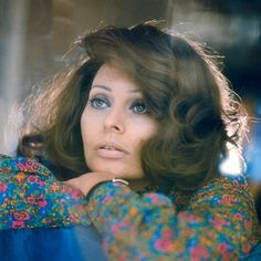 """Sophia Loren. 1974.  Photographer:Norman Parkinson Additional Information from Flickr:  Sophia Loren on the set of the TV movie """"Brief Encounter"""" , directed by Alan Bridges by skorver1 on Flickr. 1974, Hampshire, England, UK"""