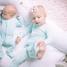 """878b0bf39f Little Sleepies on Instagram  """"Our soft as clouds convertible sleepers go  from a romper to a footie with a flip of the cuff"""