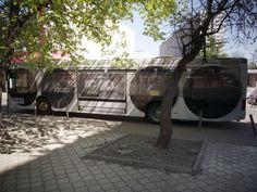 Bus from Street Art Festival, Katowice 2012