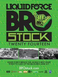 BROstock 2014, June 5-7.
