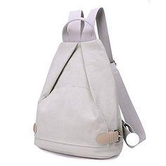 Mini Casual Canvas Backpack Small Bookbag Purse Travel Shoulder Bag for  Girls d2665425cfc29