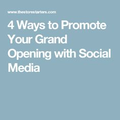 12 great grand opening invitation wording ideas koolsoundz 4 ways to promote your grand opening with social media m4hsunfo