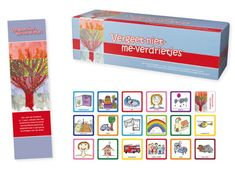 Vergeet-niet-me-verdrietjes : een spel om kinderen (2-7 jaar), mensen met een autistische stoornis en/of verstandelijke beperking spelenderwijs in aanraking te brengen met de dood -  van der Molen, Larissa -  plaats spel 418.7